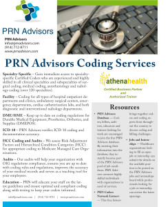 Download an overview of PRN Advisors Coding Services